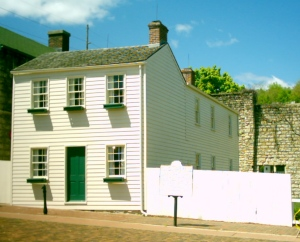 A more recent picture of Mark Twain's boyhood home/museum